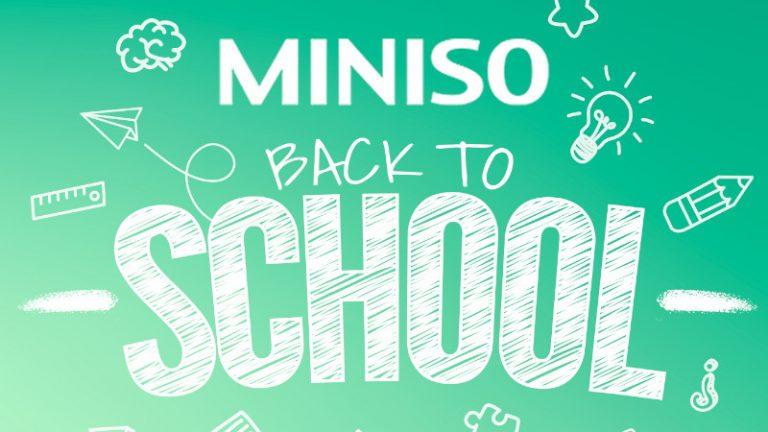 Descubre qué tipo de miniso schooler eres y regresa a clases con el kit más divertido