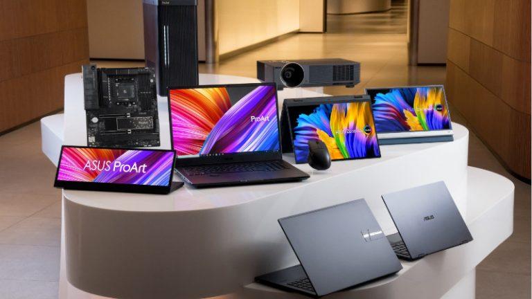 ASUS anuncia soluciones integrales para creadores  y OLED con Windows 11