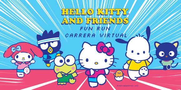 ¡La Hello Kitty & Friends Virtual Fun Run 2021 está de regreso!