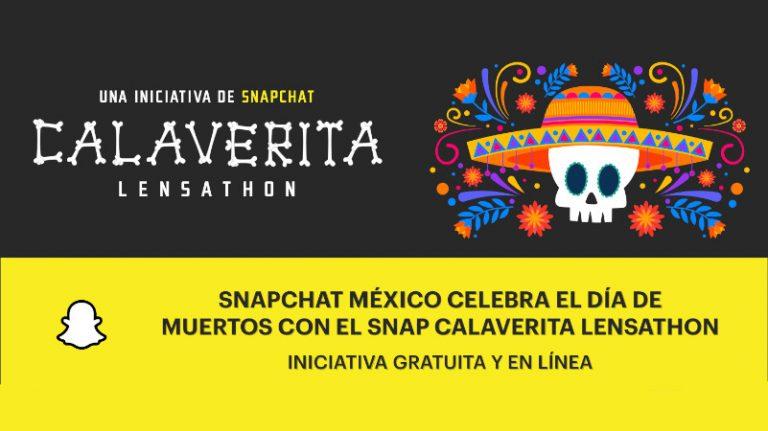 Snapchat inicia la convocatoria de Snap Calaverita Lensathon para conmemorar el Día de Muertos en Realidad Aumentada