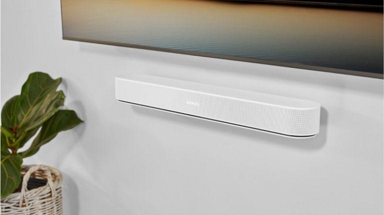 Sonos devela la siguiente generación de Beam, compatible con Dolby Atmos y nuevos formatos de audio