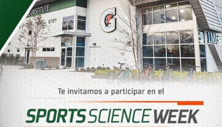 Gatorade te invita a la primera edición del Sports Science Week
