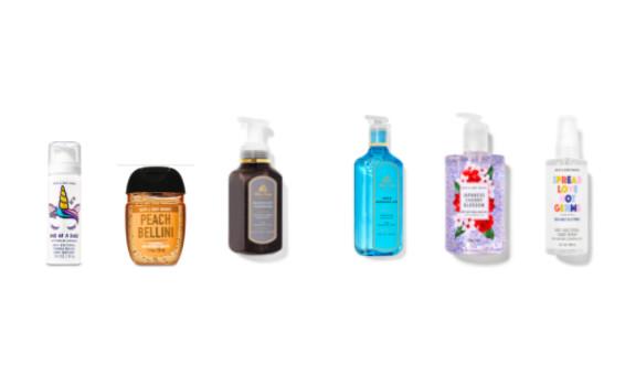 Bath & Body Works celebra el Día Mundial de las Manos Limpias con sus productos esenciales