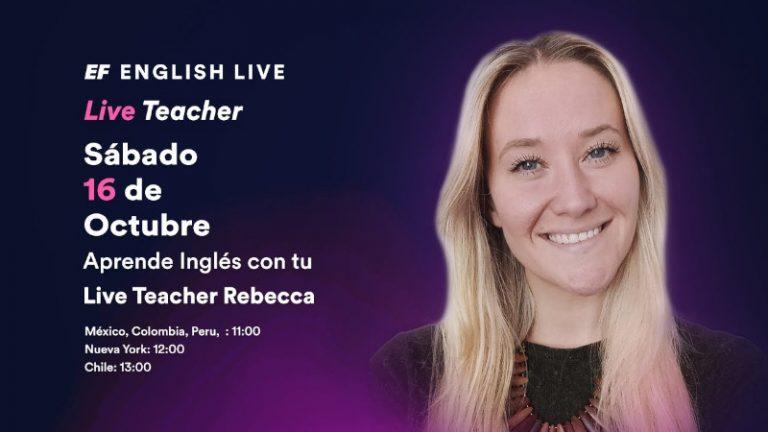 Aprender inglés con profesores nativos hace la diferencia, asiste gratis a una clase gratis online de inglés
