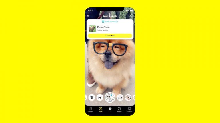 Dile hola al Escáner de perros de Snapchat