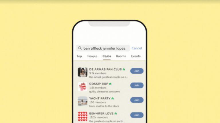 Clubhouse anuncia 3 nuevas funciones: Universal Search, Clips, y Replay, así como Audio Espacial para todos