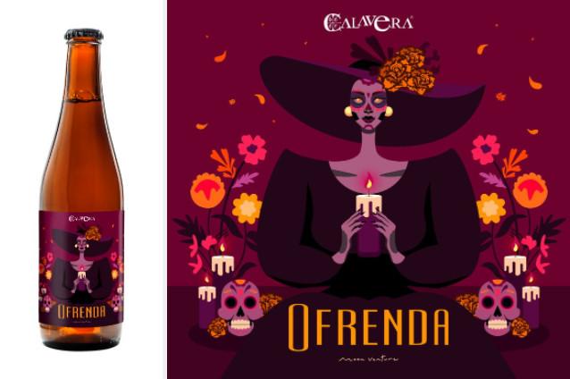 """Cervecería Calavera presenta su cerveza """"Ofrenda 2021"""""""